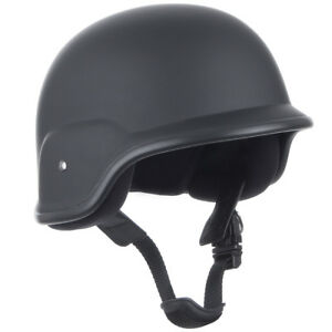 Tactical BW Army Parade Battle Training Helmet Head Protection Airsoft Black