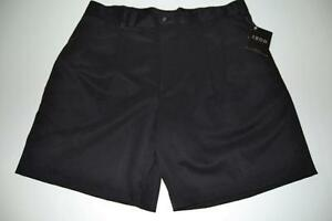 IZOD GOLF BLACK DRY FIT SHORTS MENS SIZE 38 NEW