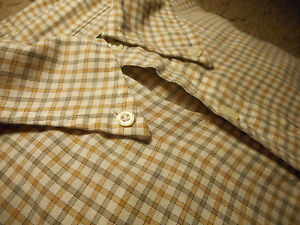 Brooks Brothers Extra Large XL Sport Shirt Country Club Egyptian Cotton Gingham