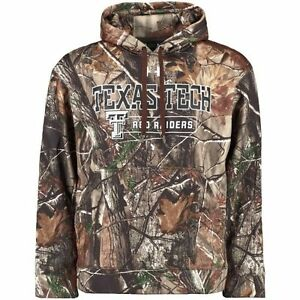 Men's Under Armour Realtree Camo Texas Tech Red Raiders Catalyst Pullover Hoodie