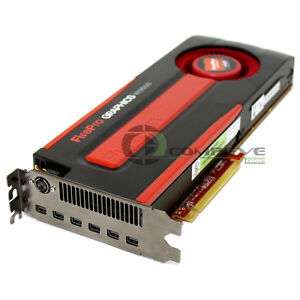 AMD FirePro W9000 6GB GDDR5 6x Mini DisplayPorts PCIe Graphics Card 100-505859