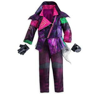 Disney Store Descendants Mal Costume for Kids faux leather jacket Maleficent NEW