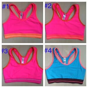 NEW Under Armour Women Sports Bra No Padded Top Gym Yoga Fitness S M L $9.99