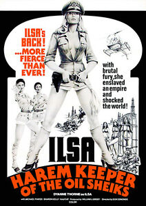 Ilsa Harem Keeper of the Oil Sheiks 1976 Movie Poster