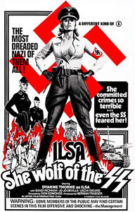 Ilsa She Wolf of the SS 1975 Movie Poster