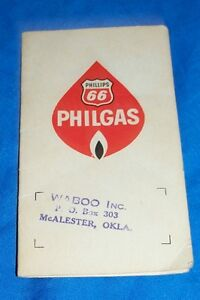 Old Phillips 66 Sewing Kit Vintage Philgas Advertising Gas Oil Filling Station $9.95