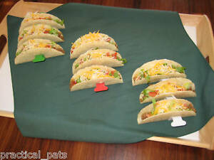3 Taco Shell Holder Rack Stand Kitchen Tool Holds 9 Tacos Makes it easy to fill