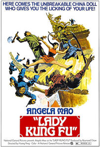 Lady Kung Fu 1972 Movie Poster