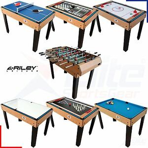 riley 4 in 1 multi games table 4ft football