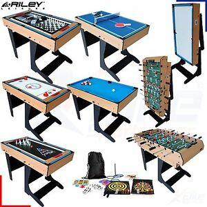 riley 21 in 1 multi games table football