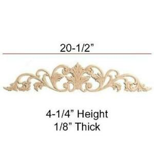 Birch Embossed Carving Applique 20-1/2