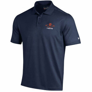 Detroit Tigers Under Armour MLB Performance Polo - Navy