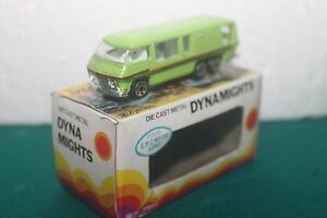 dynamights p326 g m c motor home scale model 1970