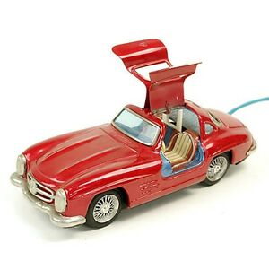 1954s vintage rare bandai friction car tin