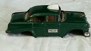 1950s marx japan tin 7 5 police car parts only