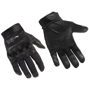 Wiley X Cag-1 Gloves Kevlar Leather Military Security Army Tactical Flame Black