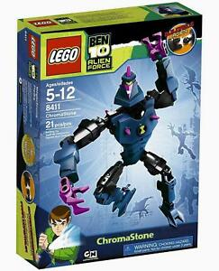 Lego Ben 10 Alien Force ChromaStone New 8411 Cartoon Network 21 pieces