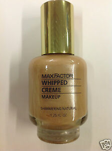 Max Factor Whipped Creme Makeup SHIMMERING NATURAL New.