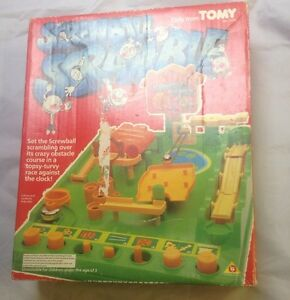screwball scramble by tomy vintage toy game