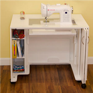 Arrow Cabinets Mod Airlift Sewing Cabinet Table 2011 White $1199.00