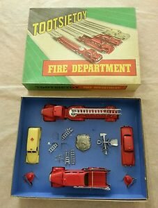 fire department 5211 very rare vintage 50s