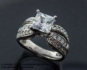A.JAFFE .88CT TW VS1 F Semi-mount Engagement Ring (Item TBA)