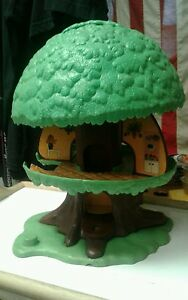 vintage 1975 tree house toy family tree tots