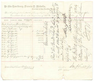 FRANCIS REDDING T. NICHOLLS - DOCUMENT SIGNED 04291878
