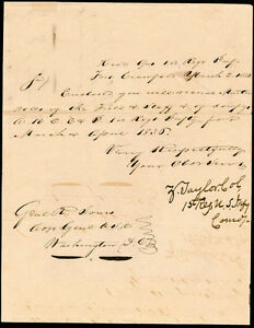 ZACHARY TAYLOR - MANUSCRIPT LETTER SIGNED 03021836