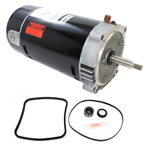 Hayward Super Pump 1 HP SP2607X10 Pool Motor Replacement Kit UST1102 w/ GO-KIT-3