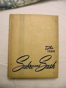 SABRE AND SASH Pennsylvania Military Academy YEARBOOK Chester PA 1949 $12.00
