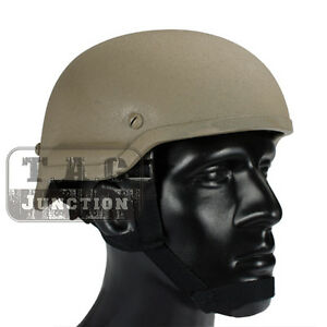 Emerson Tactical ACH MICH 2002 TC-2002 Combat Helmet ABS for Airsoft Paintball