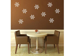 Snowflakes Vinyl Wall Decal 6
