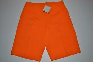 PUMA GOLF TECH  RICKIE FOWLER VIBRANT ORANGE DRY FIT SHORTS MENS SIZE 30 NEW