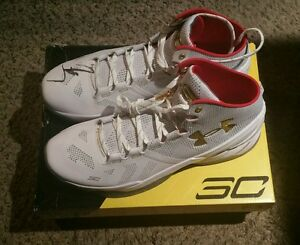 Stephen Curry Signed Autographed Under Armour Shoe Size 13 JSA LOA