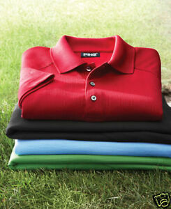 {2} PING Golf NEW Mens Size Large DRY FIBER Dri Fit Polo Sport Shirts $79.95