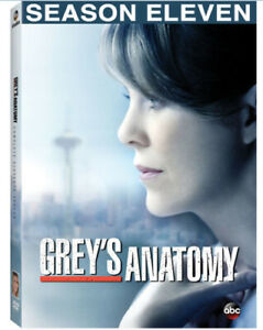 Grey#x27;s Anatomy: Complete Eleventh Season New DVD Boxed Set Dolby S