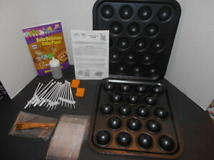 Cake Bake Pop Baking Pan and Accessories As Seen on TV