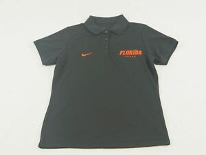 NEW Nike Florida Gators - Black Dri-Fit Polo Shirt (M) 4 Charity