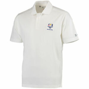 Under Armour 2016 Ryder Cup Logo Performance Polo - White