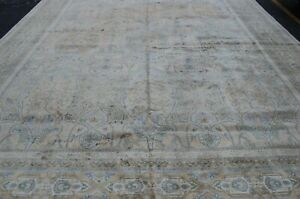c1930s ANTIQUE PRSIAN TABRZ DESIGN PRSIAN RUG 12.5x15.5 HIGH KPS_ PALACE SIZE