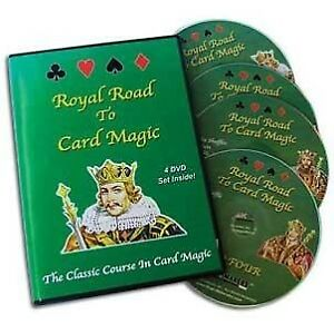 Royal Road To Card Magic DVD Set