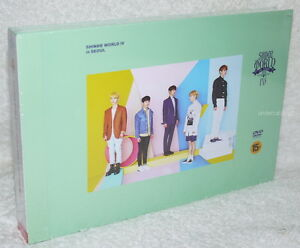 SHINee The 4th Concert World IV in Seoul Taiwan 2 DVDbook Chinese Sub. $86.68
