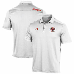 Boston College Eagles Under Armour Special Event Polo - White - NCAA