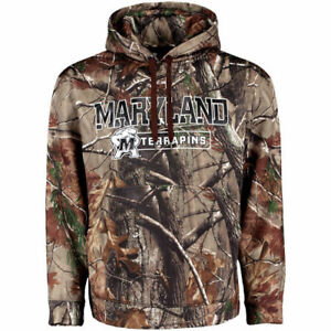 Maryland Terrapins Under Armour Catalyst Pullover Hoodie - Realtree Camo - NCAA