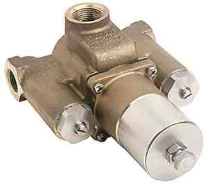 Symmons Tempcontrol Thermostatic Mixing Valve Rough Brass 34 In. X 1 In.