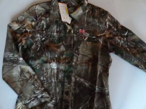 NWT Under Armour Women's XL Hunting Real-Tree Camo Performance Shirt
