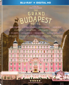 The Grand Budapest Hotel New Blu ray UV HD Digital Copy Widescreen $8.83