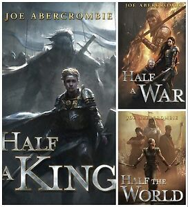 Lettered Edition SHATTERED SEA TRILOGY Joe Abercrombie Subterranean New OOP