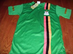 Authentic Zambia Dri-Fit FootballSoccer Team Jersey Shirt NEW NWT Authentic RAR